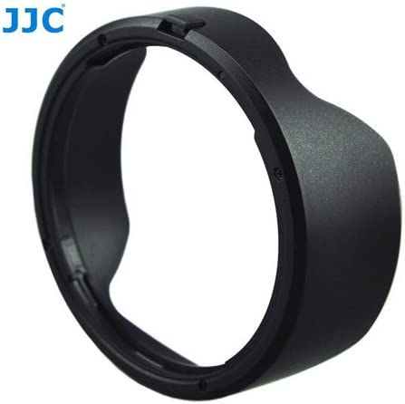 JJC LH-82 Reversible Lens Hood Shade For Canon EF 16-35mm f//4L IS USM Lens /& A/&R Cleaning Cloth /& Lens cap Holder Replaces EW-82