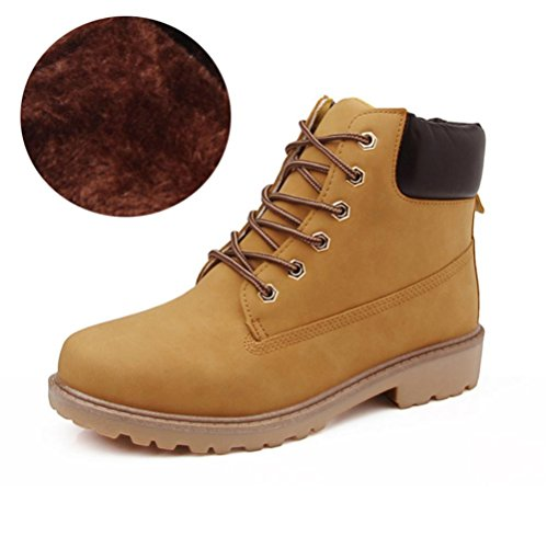 alto Khaki amp;HX ayudar retro hembra m¨¢s Oto para brit¨¢nicas Martin se e antideslizante botas botas terciopelo o oras invierno Z 7qSH6H