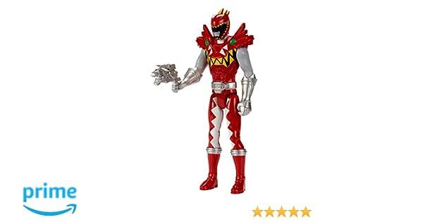 Power Rangers Dino Super carga – 12 T-Rex Super carga Red Ranger Action Figure