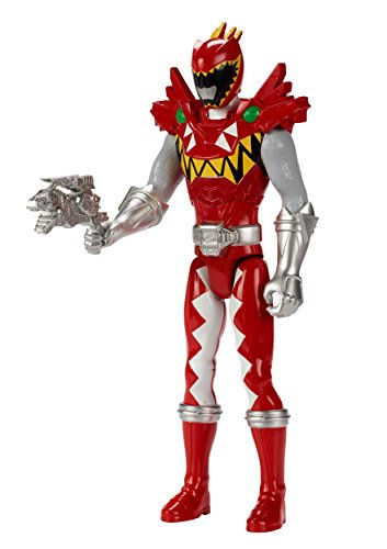 "Power Rangers Dino Super Charge - 12"" T-Rex Super Charge Red Ranger Action Figure"