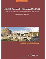 Italian Art Songs: 48 Songs from the 19th and 20th Centuries - Medium/Low Voice