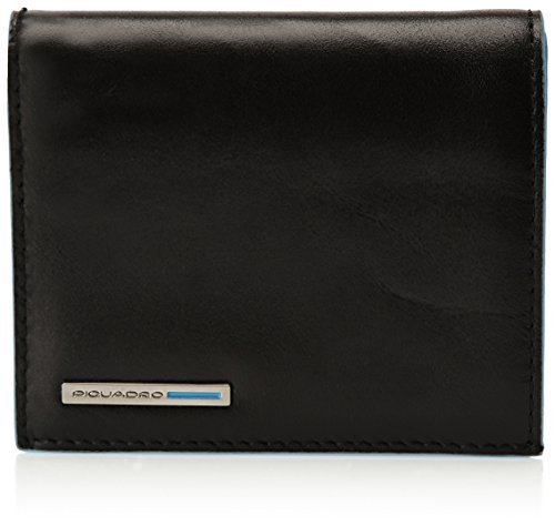 Piquadro Document Case In Leather, Black, One Size by Piquadro