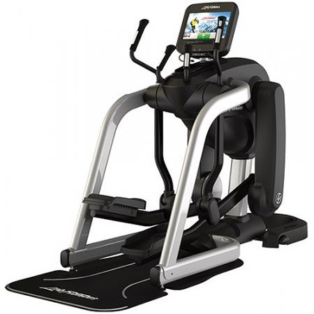 Life Fitness Discover SE FlexStrider Adjustable Elliptical (Black/Silver)