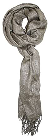 Ted and Jack - Hollywood Dreams Sparkling Metallic Scarf (Champagne)