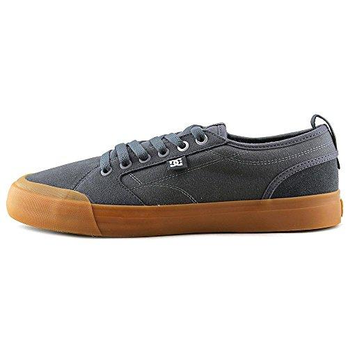 DC–Hombres Evan Smith S Low Top Zapatillas ( - Grey/Gum