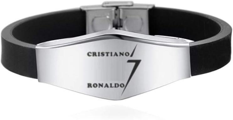 VIOY Nuovi Prodotti Calcio Bracciale in Acciaio Inossidabile Messi Nemar Ronaldo Sports