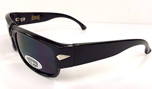 Authentic Dyse One Shades KingPin Black Sunglasses California Lowrider Locs - California Sunglasses