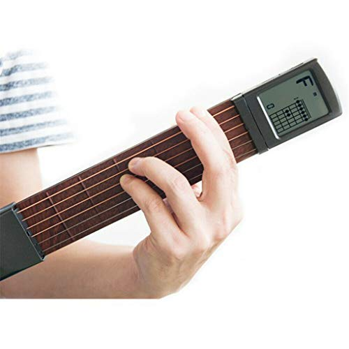 (Digital Guitar, LtrottedJ Ultimate Digital Handy Guitar Trainer Portable Pocket Practice Tool)