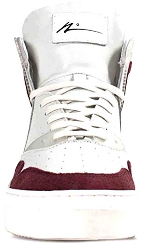 Number 0414 Nº Maroon Top 0225 Mens White High Article Shoes Sneakers dR4xqfdn