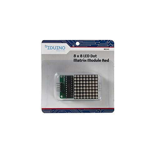 Arduino Compatible MAX7219 Display Red LED 8 * 8 Dot Matrix Module (Max7219 Dot Matrix Module compare prices)