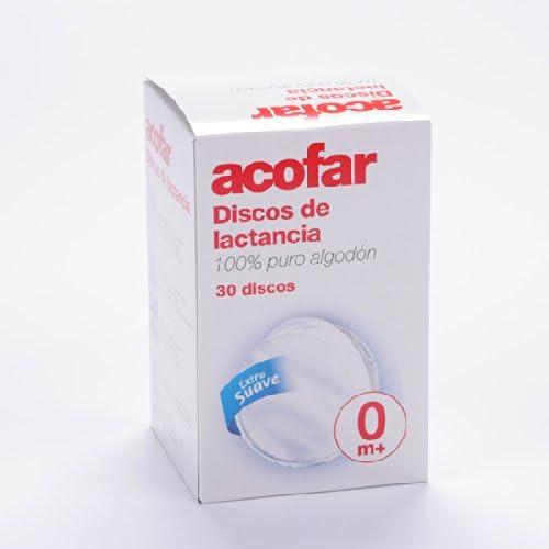 ACOFAR DISCOS LACTANCIA 30 UNI: Amazon.es: Salud y cuidado personal