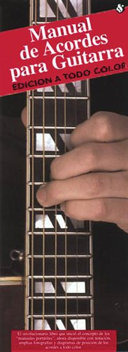 Manual De Acordes Para Guitarra (Edicion A Todo Color)