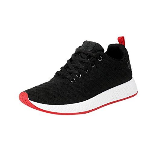 Ginnastica Scarpe Da Lavoro Corsa Donna Estive Nero Beautyjourney Sneakers  Running Uomo ZqxRTd0F a343ac215e7