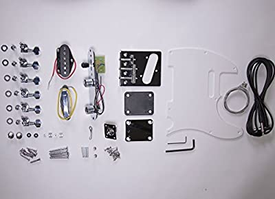 DIY Electric Guitar Kit Tele Style Build Your Own Guitar