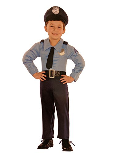 Totally Ghoul Muscle Police Costume, Size, Toddler, 12-18 months