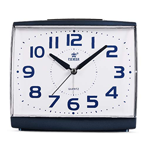 POWER Large Size Non Ticking Household Alarm Clock for sale  Delivered anywhere in USA