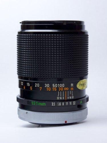 Canon FD 135mm 3 5 S C