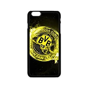 Borussia Dortmund iPhone 6 Case Plastic Black Phone Case For iPhone 6