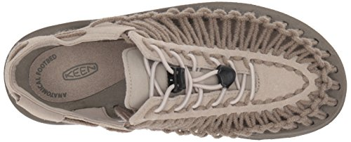 Keen Ladies Uneek Leather Sandal Plaza Taupe/Brindle Sc rdMpkuJTes