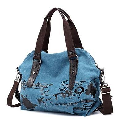 Amazon.com: Bolsas de hombro para mujer, estilo vintage ...