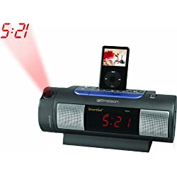 Emerson iC172 iPod Dock Alarm Clock Radio