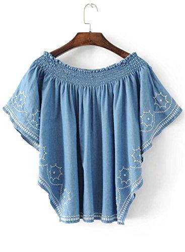 Futurino - Camisas - para mujer Azul