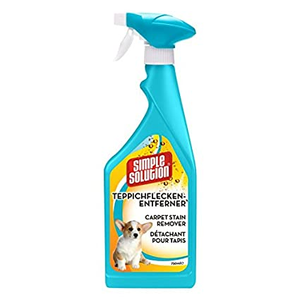 Simple Solution Spray quitamanchas para alfombras, color naranja, oxi, 750 ml