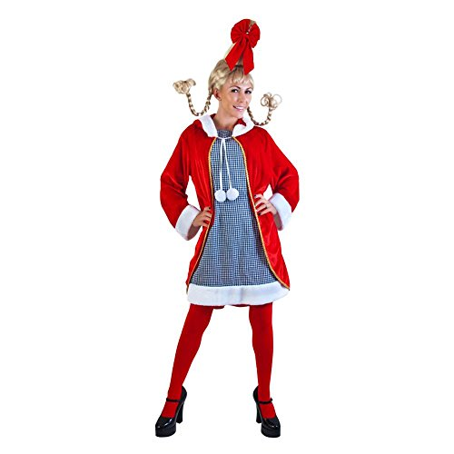 Adult Cindy Loo Who Costume, Size Standard