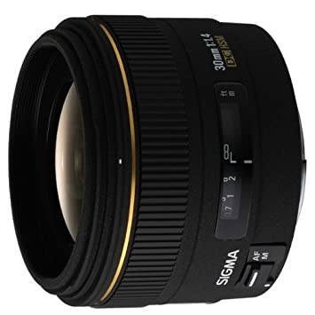 Sigma 30mm F1 4 Ex Dc Hsm Digital Lens For Canon Mount Amazon Co Uk