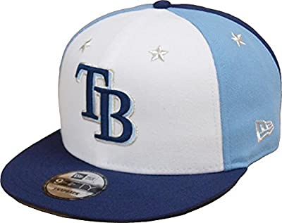 New Era Tampa Bay Rays 2018 MLB All-Star Game 9FIFTY Snapback Adjustable Hat – White/Navy from New Era