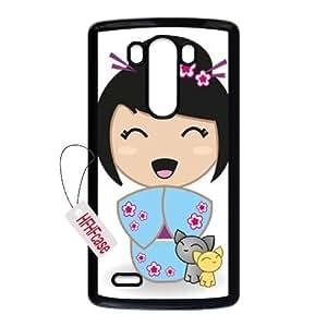 HFHFcase Personalized Case for LG G3, Kokeshi LG G3 Hard Shell Case