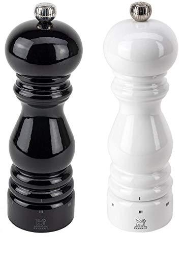 - Peugeot Paris U'Select Lacquer Salt And Pepper Mill Set 7