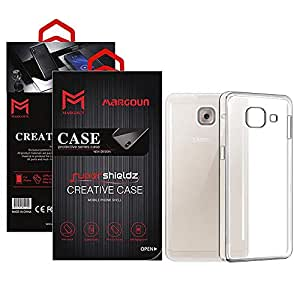 Margoun for Samsung Galaxy J7 Max Case Soft Clear TPU Back Cover Protection Case - Transparent Clear