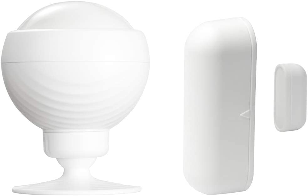 EUARNE WiFi Sensor & Smart Motion Sensor, Door Wiondow Sensor with APP Notifications, Support Google Assistant and Amazon Alexa, No Hub Required for Home Security