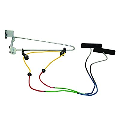 CanDo 50-1034 Over Door Shoulder Pulley, Double with Bracket, Visualizer Color System