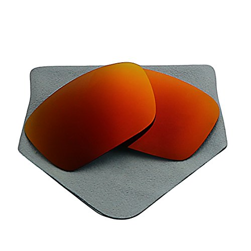 Polarized Lenses Replacement for Oakley Fuel Cell Fire Red - Oakley Fuel Cell Lenses Mirrored