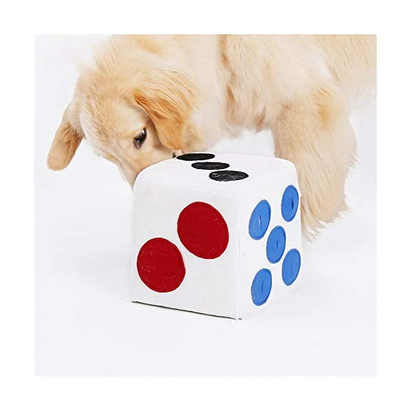 Dog Puzzle Feeder, Natural Dog Treats Toy, Dog Slow Feeder Game for Boredom, Encourages Natural Foraging Skills - Easy To Fill - Fun to Use Design - Durable & Machine Washable - Perfect for Any Breed 2