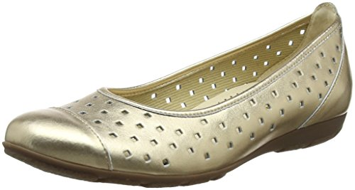Ballerines champagner Multicolore Shoes Femme Gabor Casual Xw1E6Cq