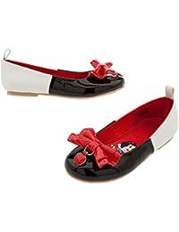 Girls Snow White Flat Shoes