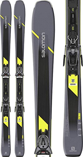 Salomon XDR 80 ST C Mens Skis w/Z10 GW Bindings Mens