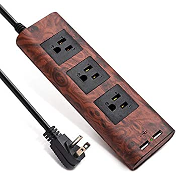 Amazon.com: Surge Protector Power Strip 9.8ft Extension