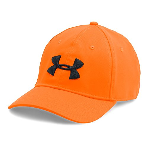 Under Armour Men's Camo 2.0 Cap, Blaze Orange /Black, One Size Blaze Orange Camo Cap