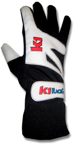 K1 Race Gear 40003014 Black XXX-Small Kart Racing Glove - Pair ()