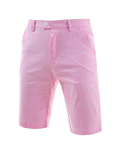 Allegra Stripes Front Plain Front Shorts