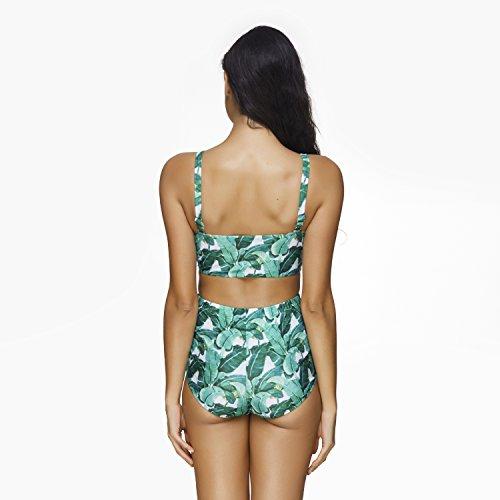 a2de101238 Cosy-L Damen Retro Badeanzug Bademode Bikini Set Push Up Bikini-Sets Retro  Stil ...