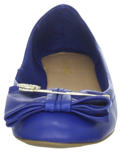 Via Uno Leather 21112204 Damen Ballerinas Blau (Bic)