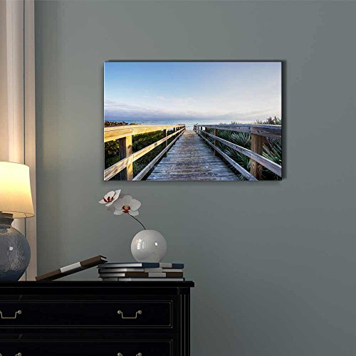 Beautiful Scenery Landscape of The Canaveral National Seashore Home Deoration Wall Decor