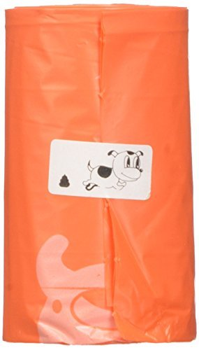 GoGo Pet Products Poop n Go Scented Pet Waste Bags Refill Rolls, orange by GoGo Pet Products