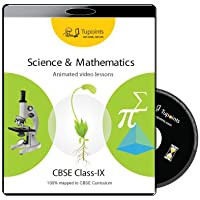 CBSE Class 9 Science and Mathematics Multimedia Animated video lessons DVD/CD