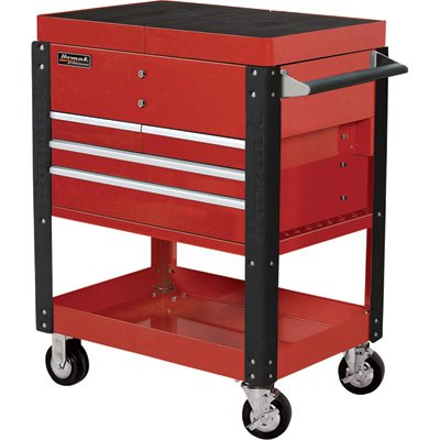 Homak-Pro-Series-Service-Cart-with-Sliding-Top-Panels-35in-Red-Model-RD06043500